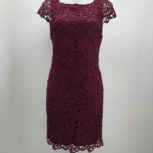 Alice + Olivia Purple Lace Dress 4